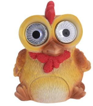 Solarleuchte lustiges Huhn