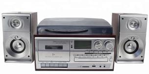 Stereoanlage USB MP3 Kassette CD Plattenspieler Encoder