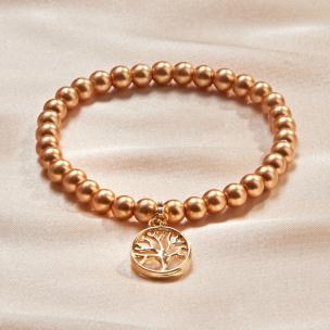 Perlenarmband Lebensbaum