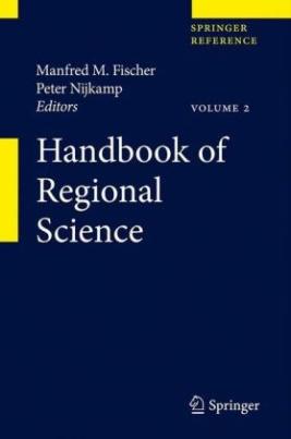 Handbook of Regional Science, m. 1 E-Book, 3 Teile