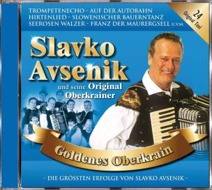 Slavko Avsenik und seine Original Oberkrainer - Goldenes Oberkrain (CD)