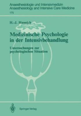 Medizinische Psychologie in der Intensivbehandlung