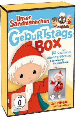 Unser Sandmännchen Klassiker - Geburtstags-Box