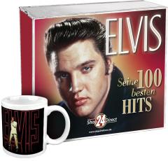Elvis - Seine 100 besten Hits + Gratis Tasse