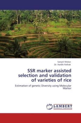 SSR marker assisted selection and validation of varieties of rice