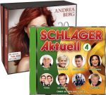 Schlager Aktuell 4 + Andrea Berg - 20 Jahre Abenteuer EXKLUSIV