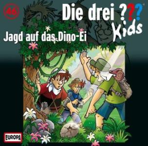 Die drei Fragezeichen-Kids: Jagd auf das Dino-Ei, Audio-CD