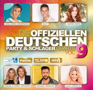 Die offiziellen deutschen Party & Schlager Charts Vol. 9