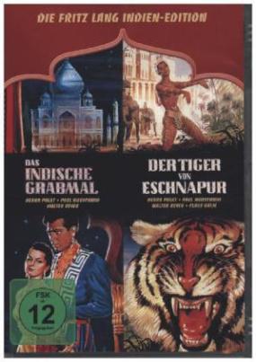 Die Fritz Lang Indien-Edition, 2 DVDs