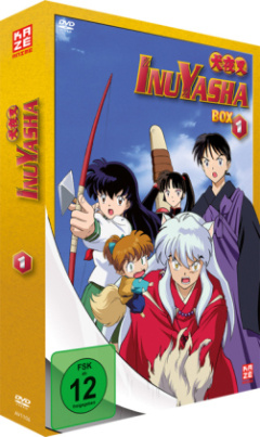 InuYasha - TV-Serie, 7 DVD. Box.1