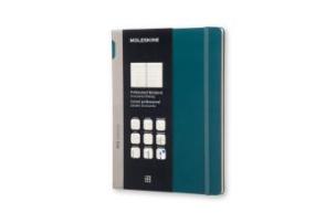 Moleskine Professionelles Notizbuch XL, meergrün
