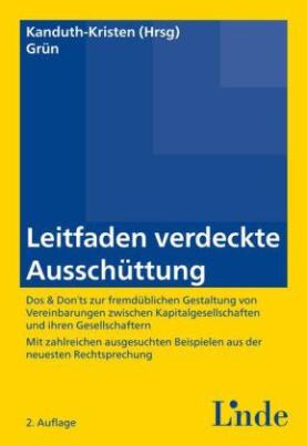 Leitfaden verdeckte Ausschüttung (f. Österreich)