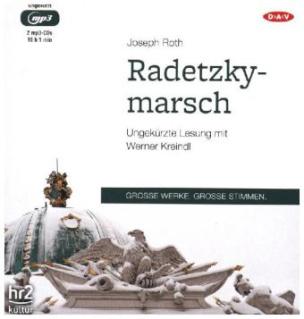 Radetzkymarsch, 2 MP3-CDs