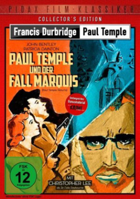 Paul Temple und der Fall Marquis (Paul Temple Returns), 1 DVD (Collector's Edition)
