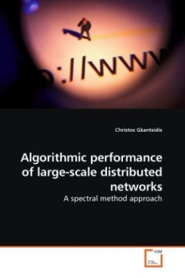 Algorithmic performance of large-scale distributed networks