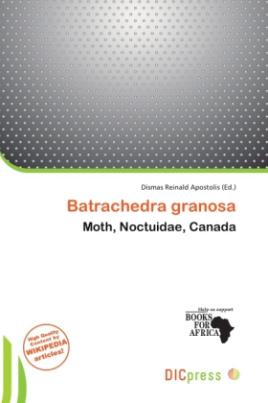 Batrachedra granosa