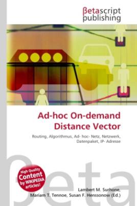 Ad-hoc On-demand Distance Vector
