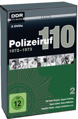 Polizeiruf 110 - Box 2 (DDR TV-Archiv) (3DVD´s)