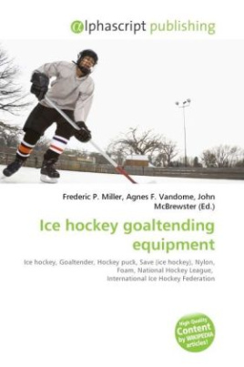 Ice hockey goaltending equipment