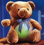 LED Kuschel Teddy mit Touchlampe