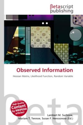Observed Information