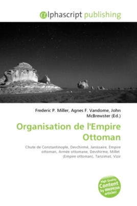 Organisation de l'Empire Ottoman