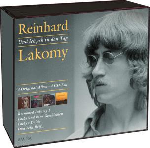 Reinhard Lakomy - Ich geh in den Tag (4CD´s)