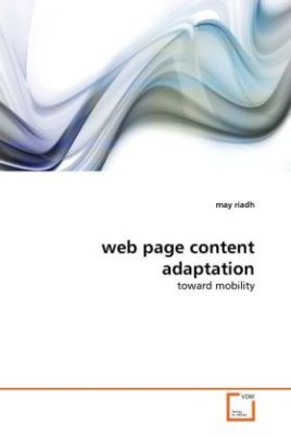 web page content adaptation