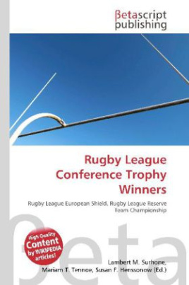 Rugby League Conference Trophy Winners