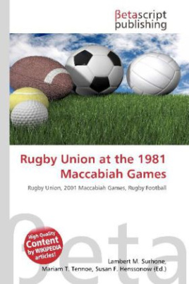Rugby Union at the 1981 Maccabiah Games