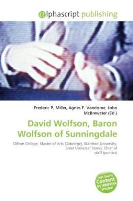 David Wolfson, Baron Wolfson of Sunningdale