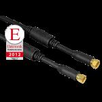 SAT-Anschlusskabel, F-Stecker - F-Stecker, 100 dB, 1,5 m