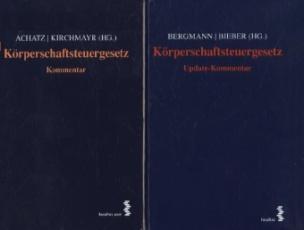 Körperschaftsteuergesetz (KStG), 2 Bde.