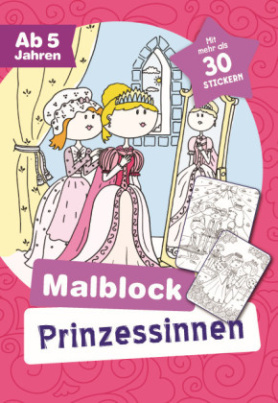 Malblock Prinzessinnen