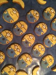 Minion-Kekse