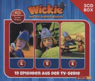 Wickie - 3-CD Hörspielbox zur neuen TV-Serie (CGI), 3 Audio-CDs. Vol.2