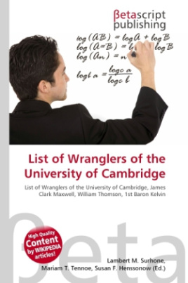 List of Wranglers of the University of Cambridge