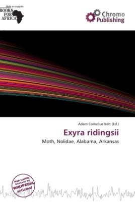 Exyra ridingsii