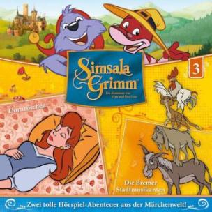 SimsalaGrimm - Dornröschen / Die Bremer Stadtmusikanten, 1 Audio-CD