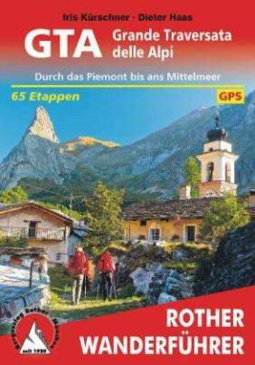 Rother Wanderführer GTA - Grande Traversata delle Alpi