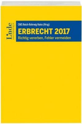 Erbrecht 2017 (f. Österreich)