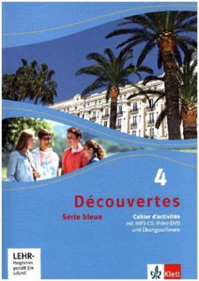 Cahier d'activités m. Audio-MP3-CD, Video-DVD und Übungssoftware-CD (Klasse 10)