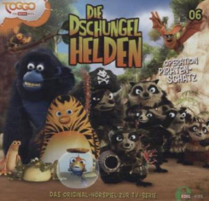 Die Dschungelhelden - Piratenschatz, 1 Audio-CD