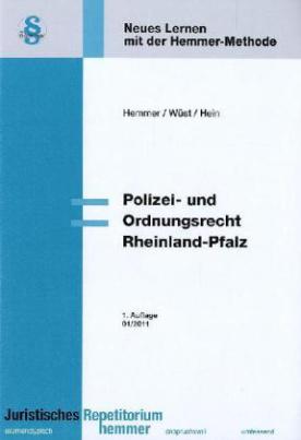 Polizei- und Ordnungsrecht Rheinland-Pfalz
