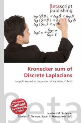 Kronecker sum of Discrete Laplacians