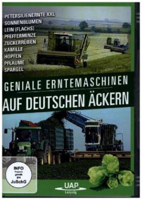 Geniale Erntemaschinen auf deutschen Äckern, 1 DVD