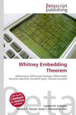Whitney Embedding Theorem