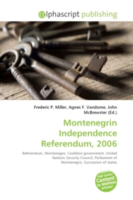 Montenegrin Independence Referendum, 2006