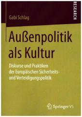 Außenpolitik als Kultur