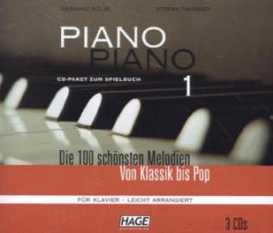 Piano Piano, leicht arrangiert, 3 Audio-CDs. Tl.1